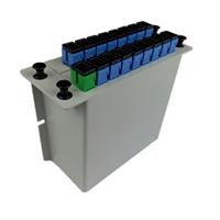 1-16光分路器插片式配分光分纤箱2槽