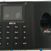 郑州中控W816考勤机