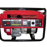 供应SAW5000S-5KW三相汽油发电机