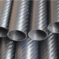 供应3K花纹碳纤维管