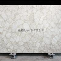 厂家供应白水晶装饰板,白水晶大板