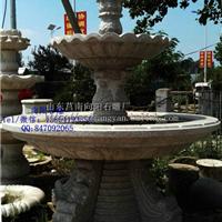 江苏水钵喷水池石雕厂家|黄锈石水钵价格