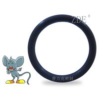 棕色氟素橡胶密封圈、进口耐酸碱橡胶O型圈