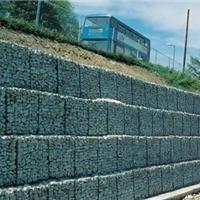 河道固堤、边坡基抗支护镀锌覆塑宾格网