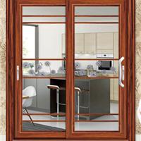 供铝门窗-伊丽莎两轨白推拉门-维金斯门窗