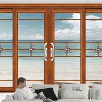 供铝门窗-伊丽莎白推拉门四扇-维金斯门窗