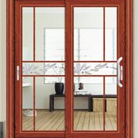 供铝门窗-伊丽莎白推拉门两扇-维金斯门窗