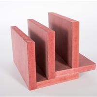 国标B1级阻燃密度板 红色阻燃板 展览道具 家具制作防火板