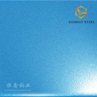 供应彩色不锈钢喷砂板 耐腐蚀装饰板