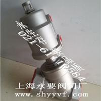 供应DN10-65MM耐温耐腐不锈钢气动角座阀