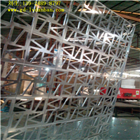 供应聚酯雕花铝板固定屏风