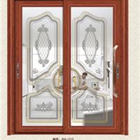 供铝门窗-93A推拉门两扇-维金斯门窗