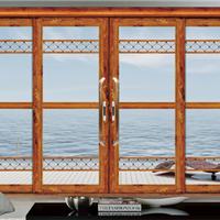供铝合金门-93A两轨推拉门-维金斯门窗