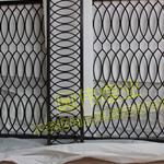 广东汕尾家居不锈钢5MM黑钛激光镂空屏风隔断、电视不锈钢背景墙屏风装饰