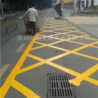 供应深圳停车位划线_专业热熔划线公司