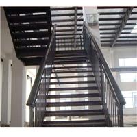 供应江都浸锌钢喷塑楼梯扶手厂家