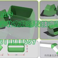塑料矩形通风管,塑料方形风管,90度弯头