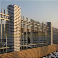 泰兴锌钢浸塑组装式围墙护栏价格
