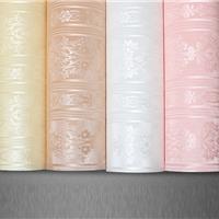 供应2016新型家居彩装膜白色压纹印花