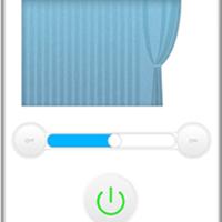 供应智能wifi电动窗帘远程遥控方案