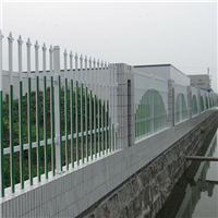 南京锌钢喷塑组装式围墙栅栏价格
