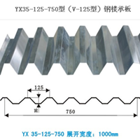 杭州杰晟宝专业生产各系列开口楼承板