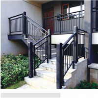 丹阳锌钢喷塑组装式楼梯扶手价格