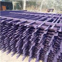 供应散装蓝白锌钢护栏隔离栅现货