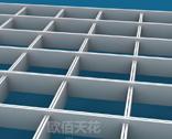 铝格栅重量、铝格栅节点大样图