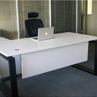 南昌会议室会议桌电脑办公桌子定制前台桌