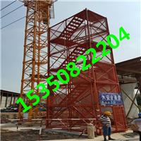 供应加强型安全梯笼 框架式安全爬梯