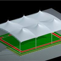 供应老干部活动中心门球场顶棚膜结构