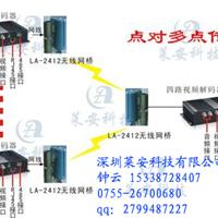 模拟监控系统使用无线网桥如何传输