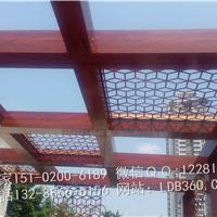 顶棚铝型材,木纹方通阳光房定做,遮阳花架