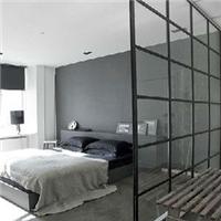 供甘肃铝塑门和兰州家庭玻璃隔断