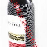 供应  环保塑料网套 红酒瓶包装网套