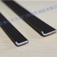 PU包覆式粘贴型密封条 粘贴防撞胶条 E型