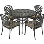 供应户外家具铸铝桌椅铸铝家具庭院家具餐桌休闲桌椅铁艺桌椅