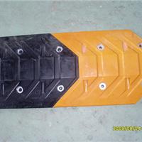 鱼尾型橡胶减速带 减速带供应商 道路减速垄