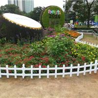 威海PVC草坪护栏、庭院护栏、威海塑钢护栏