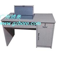 供应博奥手动钢制嵌入式翻转电脑桌价格