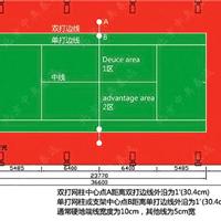天津网球场地施工_建设铺装硅PU网球场地