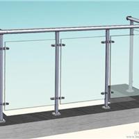 供应玻璃阳台栏杆 佛山玻璃阳台护栏厂