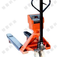 2000公斤电子手推叉车秤|装卸运输手推电子叉车秤