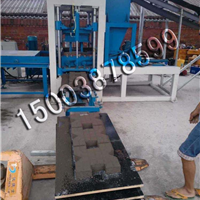 产量高水泥空心砖机设备 6-15环保制砖机