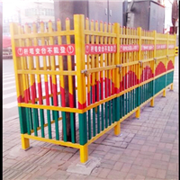 易佰电力供应绝缘伸缩围栏/玻璃钢伸缩围栏