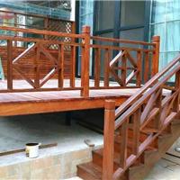 大量批发 防腐木栏杆
