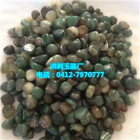 绿玛瑙粒 彩石装饰 卵石装饰(图)