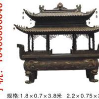 供应唐县卫刚铸铜大香炉,带盖铜雕香炉