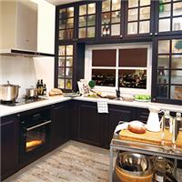 沃根8090厨房橱柜定做特价套餐现代简约风